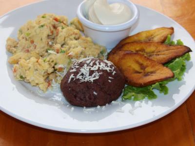Desayuno típico de El Salvador