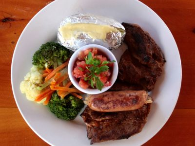 Filete de lomo de aguja. Almuerzos en El Pital